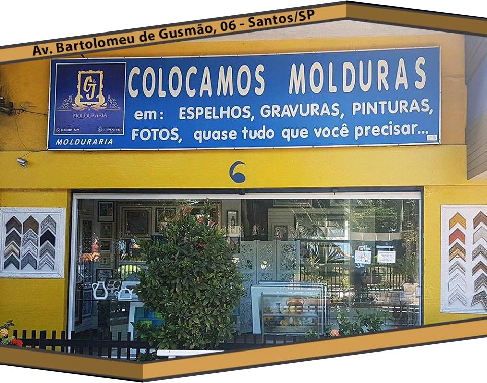 Molduras para Quadros em Santos / São vicente / Guarujá / Praia Grande / Litoral Sul